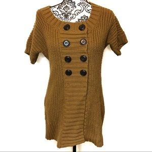Soft Surroundings Short Sleeve Knit Sweater Tunic